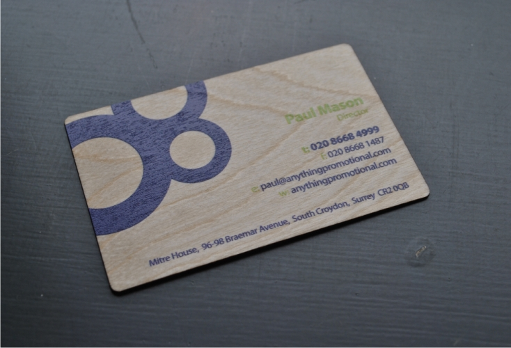 Images wood business card digitally printed reheart Images